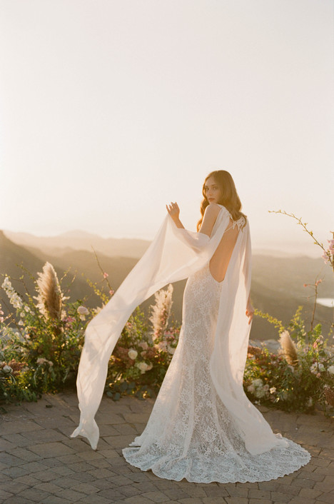 Saratoga gown from the 2017 Claire Pettibone: Romantique collection, as seen on Bride.Canada