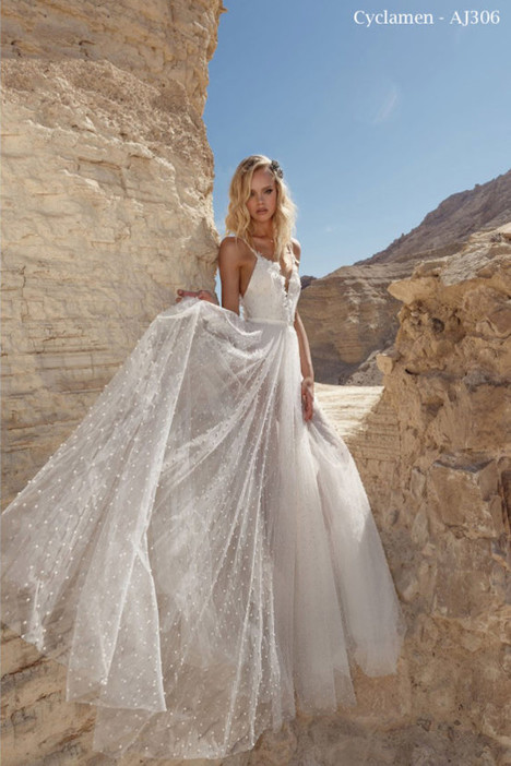 306 gown from the 2018 A&J Collection collection, as seen on Bride.Canada