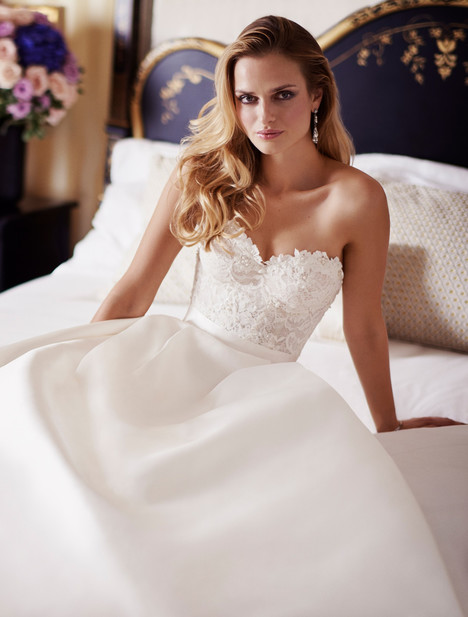 Everlasting gown from the 2018 Caroline Castigliano collection, as seen on Bride.Canada