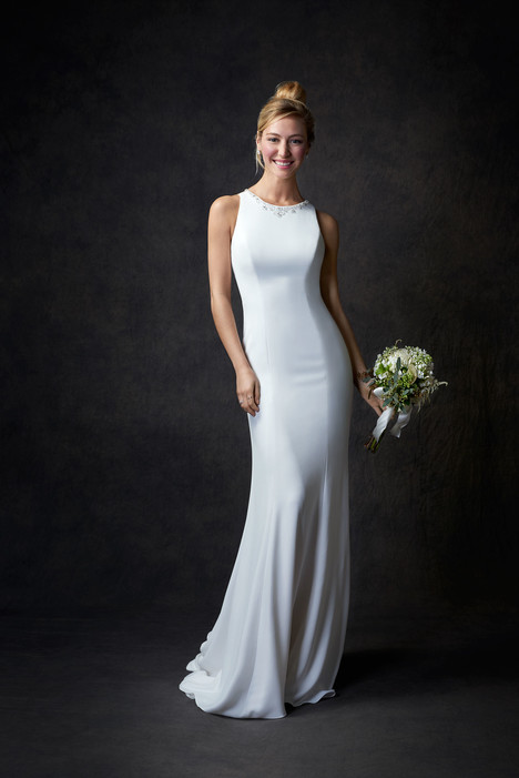GA2301 gown from the 2017 Ella Rosa: Gallery collection, as seen on Bride.Canada