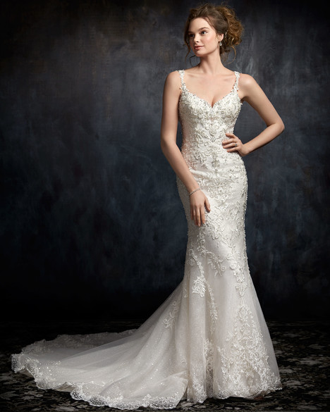 1751 gown from the 2017 Kenneth Winston collection, as seen on Bride.Canada