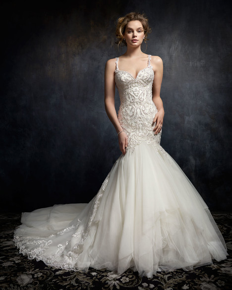 1753 gown from the 2017 Kenneth Winston collection, as seen on Bride.Canada