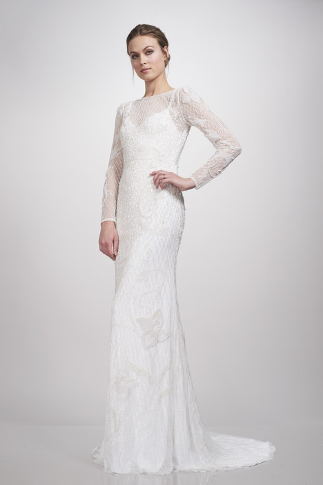 890464 gown from the 2018 Theia White Collection collection, as seen on Bride.Canada