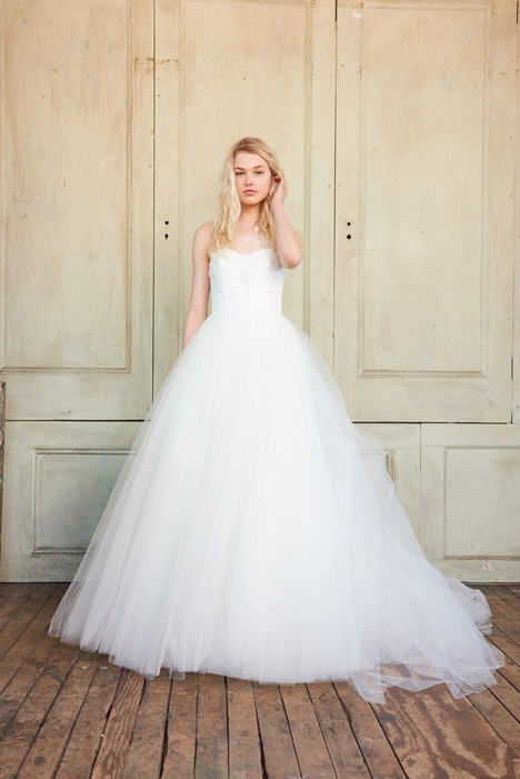 Arlene gown from the 2017 Christos collection, as seen on Bride.Canada