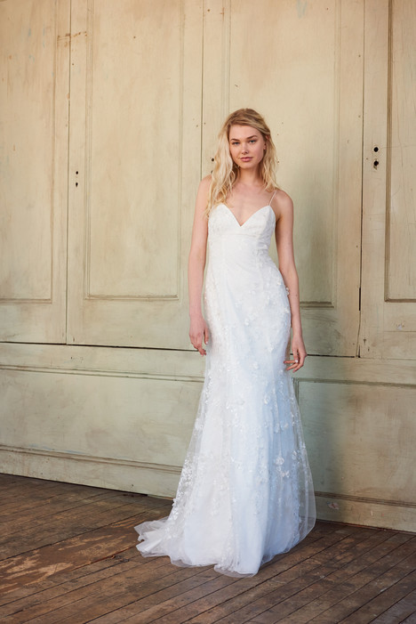 Elenor gown from the 2017 Christos collection, as seen on Bride.Canada