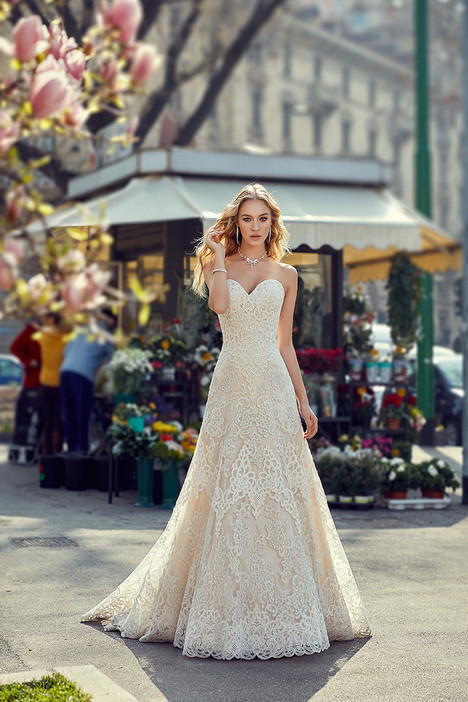 MD248 gown from the 2018 Eddy K Milano collection, as seen on Bride.Canada
