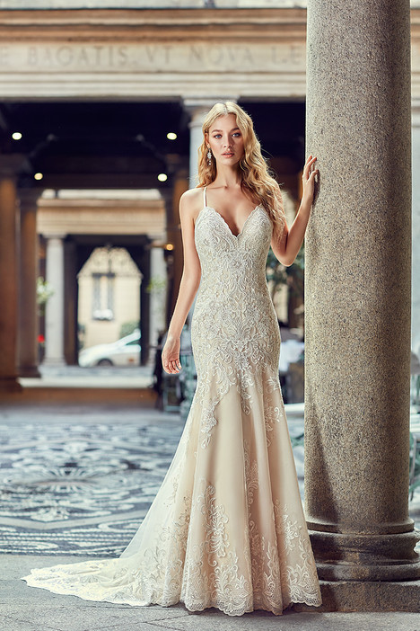 MD250 gown from the 2018 Eddy K Milano collection, as seen on Bride.Canada
