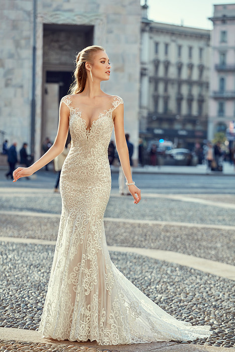 MD254 gown from the 2018 Eddy K Milano collection, as seen on Bride.Canada