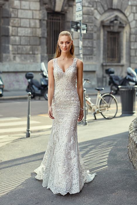 gown from the 2018 Eddy K Milano collection, as seen on Bride.Canada