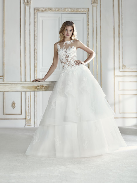 Prema gown from the 2018 La Sposa collection, as seen on Bride.Canada