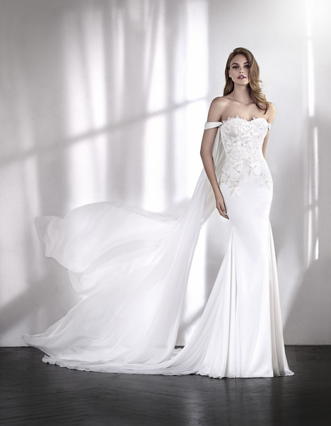 Laos gown from the 2018 St. Patrick collection, as seen on Bride.Canada