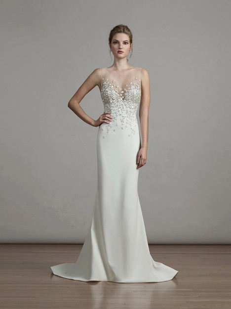 6887 gown from the 2018 Liancarlo collection, as seen on Bride.Canada