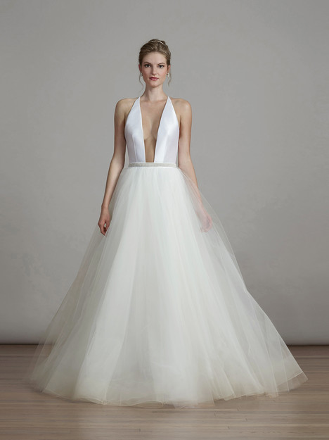 6893 gown from the 2018 Liancarlo collection, as seen on Bride.Canada