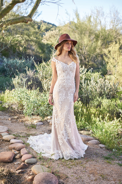 6506 gown from the 2018 Lillian West collection, as seen on Bride.Canada