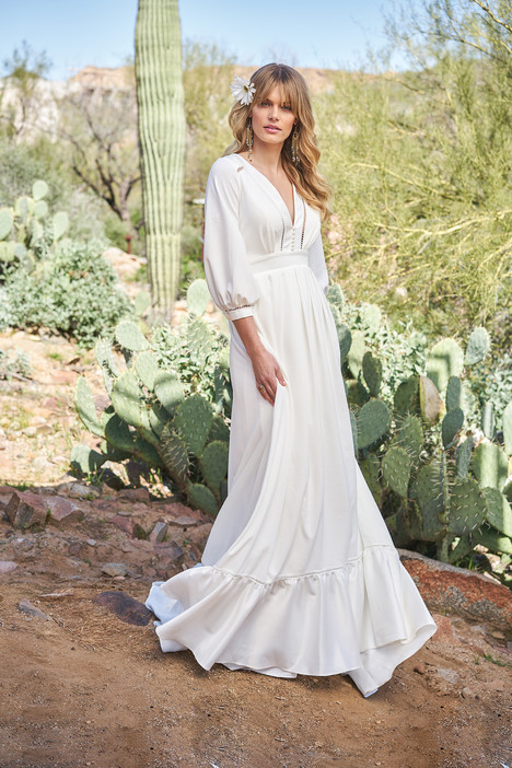 6518 gown from the 2018 Lillian West collection, as seen on Bride.Canada
