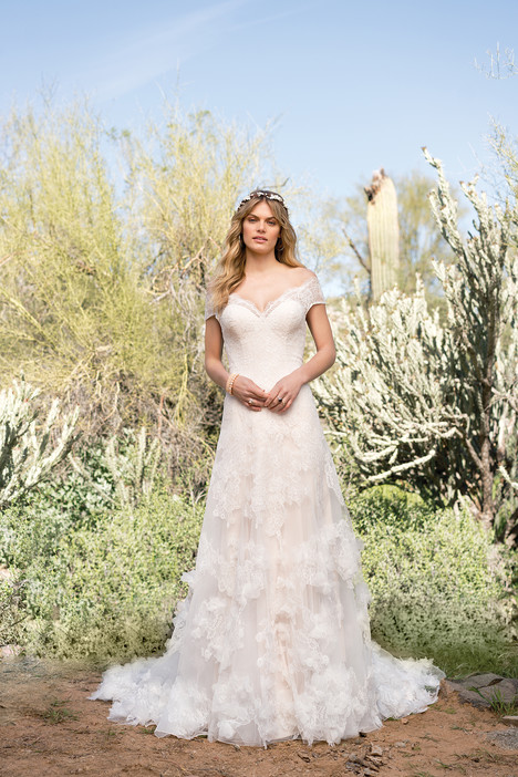 6527 gown from the 2018 Lillian West collection, as seen on Bride.Canada