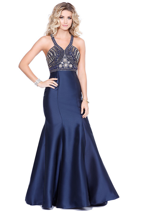 4086 gown from the 2017 Shail K : Prom collection, as seen on Bride.Canada
