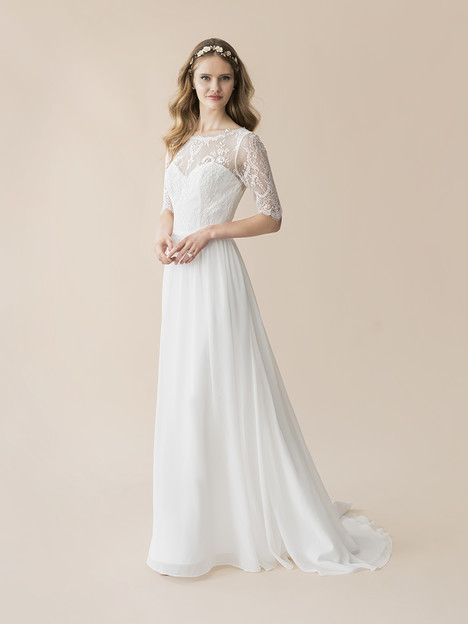 T802 gown from the 2018 Moonlight : Tango collection, as seen on Bride.Canada