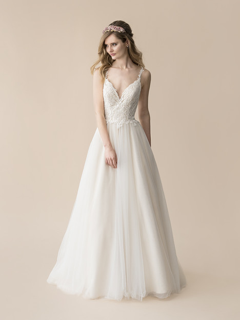 T808 gown from the 2018 Moonlight : Tango collection, as seen on Bride.Canada