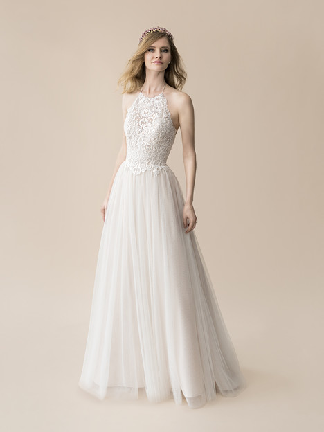 T809 gown from the 2018 Moonlight : Tango collection, as seen on Bride.Canada