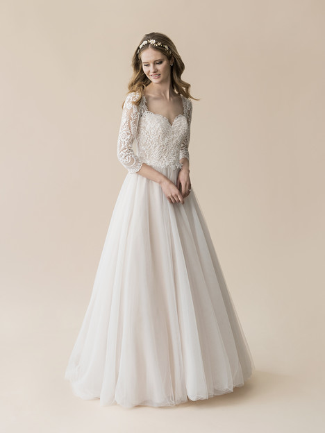 T814 gown from the 2018 Moonlight : Tango collection, as seen on Bride.Canada