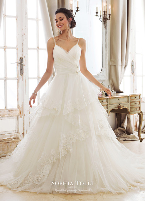 Evania (Y11893) gown from the 2018 Sophia Tolli collection, as seen on Bride.Canada