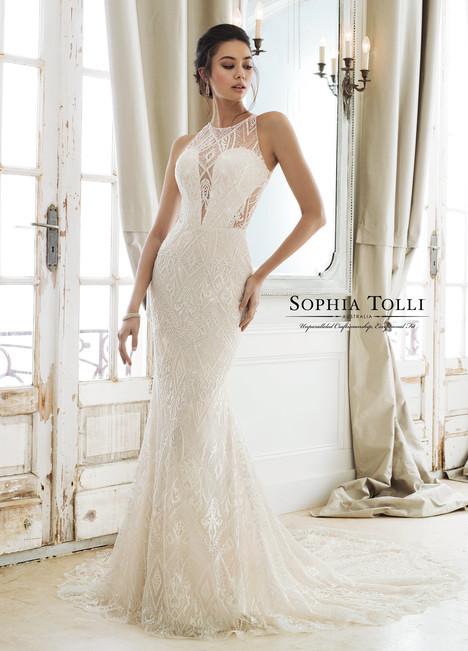 Zena (Y11895A) gown from the 2018 Sophia Tolli collection, as seen on Bride.Canada