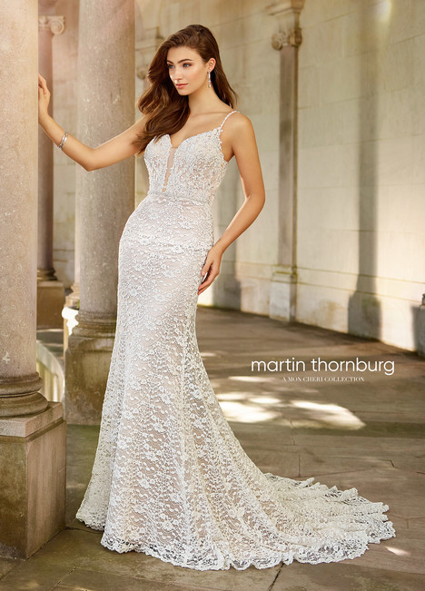 Tallis (118280) gown from the 2018 Martin Thornburg for Mon Cheri collection, as seen on Bride.Canada