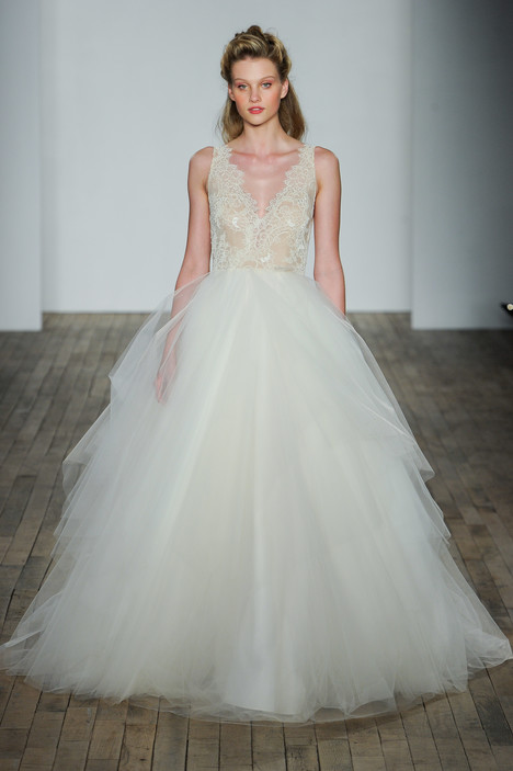 gown from the 2018 Tara Keely by Lazaro collection, as seen on Bride.Canada