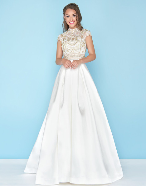 66302H (Ivory) gown from the 2018 Mac Duggal : Ball Gowns collection, as seen on Bride.Canada
