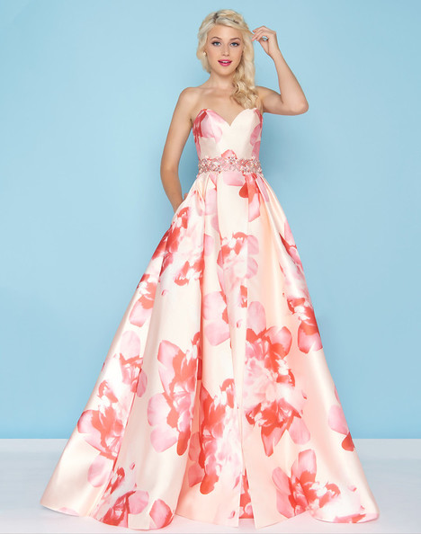 79094H (Petal + Peach) gown from the 2018 Mac Duggal : Ball Gowns collection, as seen on Bride.Canada