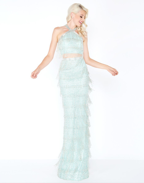 4685M (Mint) gown from the 2018 Mac Duggal Prom collection, as seen on Bride.Canada