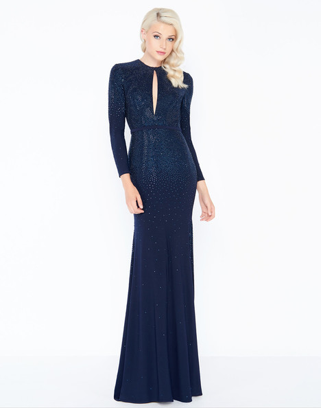 62908M (Midnight) gown from the 2018 Mac Duggal Prom collection, as seen on Bride.Canada