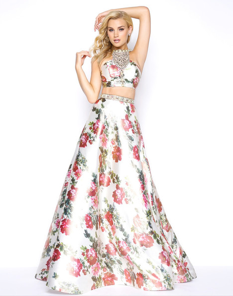 66036M (Floral) gown from the 2018 Mac Duggal Prom collection, as seen on Bride.Canada
