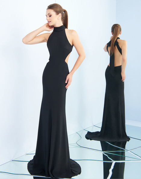 25403i (Black) gown from the 2018 Ieena Duggal collection, as seen on Bride.Canada