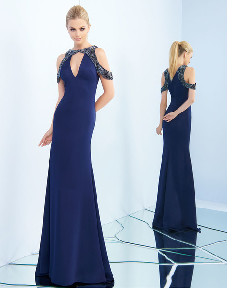 25564i (Midnight) gown from the 2018 Ieena Duggal collection, as seen on Bride.Canada