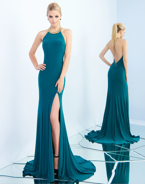 25572i (Emerald) gown from the 2018 Ieena Duggal collection, as seen on Bride.Canada