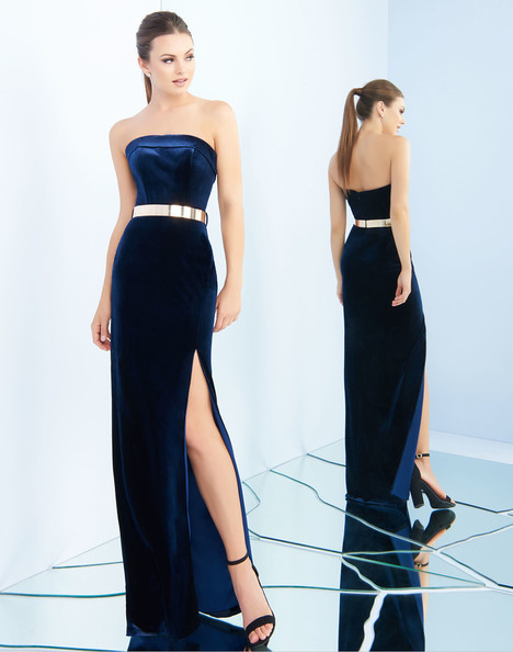 25635i (Midnight) gown from the 2018 Ieena Duggal collection, as seen on Bride.Canada