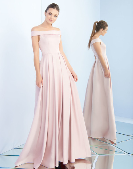 25669i (Blush) gown from the 2018 Ieena Duggal collection, as seen on Bride.Canada