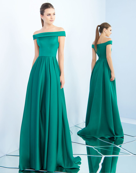 25669i (Emerald) gown from the 2018 Ieena Duggal collection, as seen on Bride.Canada
