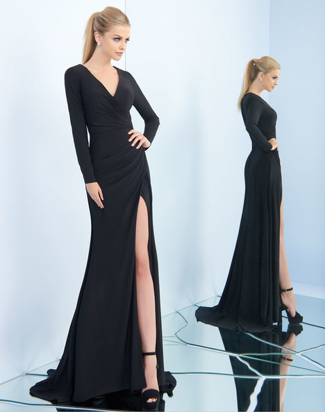 25685i (Black) gown from the 2018 Ieena Duggal collection, as seen on Bride.Canada