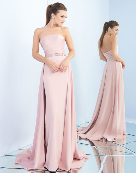 25695i (Rose Pink) gown from the 2018 Ieena Duggal collection, as seen on Bride.Canada