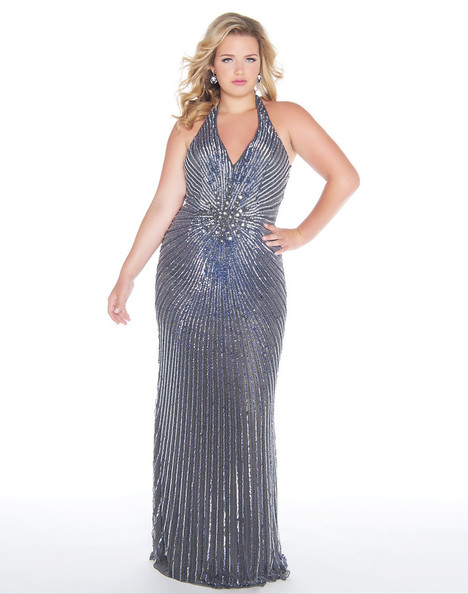 4674F (Charcoal) gown from the 2018 Mac Duggal : Fabulouss collection, as seen on Bride.Canada