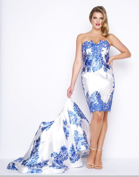 090b_77173F%20BlueFloral-PC-X2 gown from the 2017 Mac Duggal : Fabulouss collection, as seen on Bride.Canada