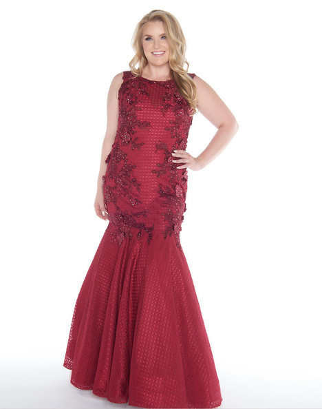 77375F (Burgundy) gown from the 2018 Mac Duggal : Fabulouss collection, as seen on Bride.Canada