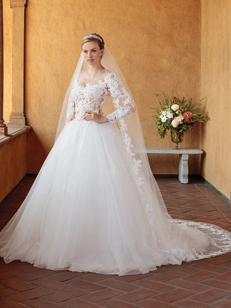2309 gown from the 2018 Casablanca Bridal collection, as seen on Bride.Canada