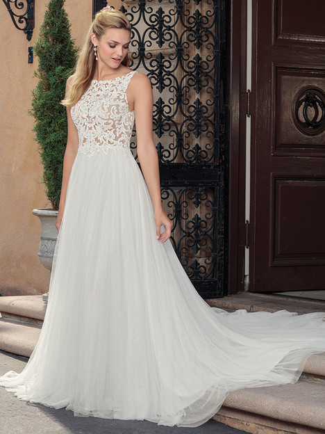 2310 gown from the 2018 Casablanca Bridal collection, as seen on Bride.Canada