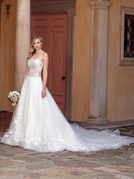 2311 gown from the 2018 Casablanca Bridal collection, as seen on Bride.Canada