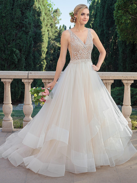 2315 gown from the 2018 Casablanca Bridal collection, as seen on Bride.Canada