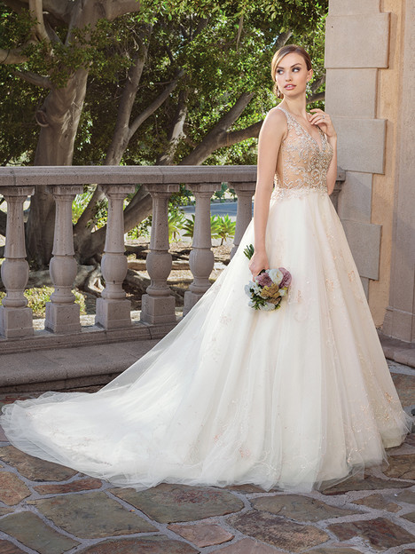2316 gown from the 2017 Casablanca Bridal collection, as seen on Bride.Canada